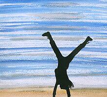 cartwheel by Leeanne Middleton