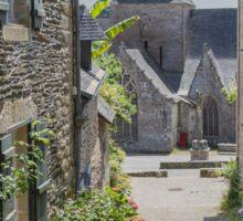 Rochefort-en-Terre, Brittany, France #5 Sticker