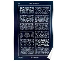 A Handbook Of Ornament With Three Hundred Plates Franz Sales Meyer 1896 0178 Free Ornaments Link Border Inverted Poster