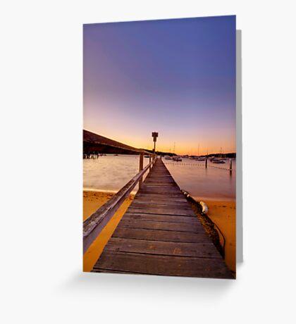 Clareville beach Greeting Card