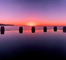 Coogee beach baths by donnnnnny