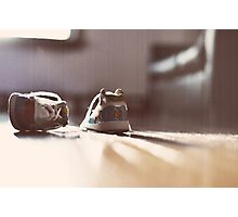 Baby Shoes Photographic Print