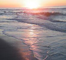 Red Dawn at Wrightsville Beach by mcvolleyangl
