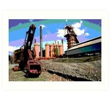 Sloss Furnaces Art Print