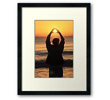 """""""Loving the Sunrise"""" Framed Print"""