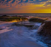 Sunset Spill by photosbyflood