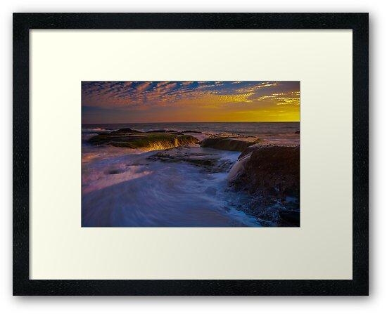 Sunset Spill by photosbyflood
