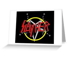 SLAYER CROSSOVER Greeting Card