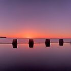 Coogee Sunrise by donnnnnny