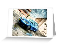 Mazda 3 Greeting Card