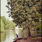 Audubon Park Lagoon by RayDevlin