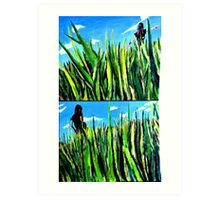 The Many Uses of Fields Art Print