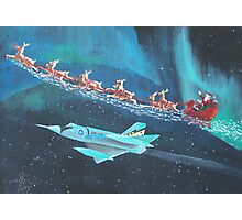 Jingle Flight Photographic Print