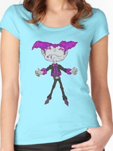 dessert creatures of the night 2... Women's Fitted Scoop T-Shirt