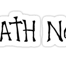 death note anime manga shirt Sticker