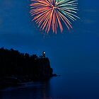 Split Rock Lighthouse Centennial 2010 by by Marvil LaCroix
