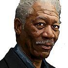 Morgan Freeman by Dominic Melfi