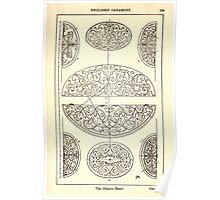A Handbook Of Ornament With Three Hundred Plates Franz Sales Meyer 1896 0285 Enclosed Ornament Elliptic Panel Poster