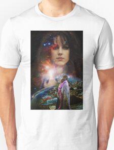 Woodstock Chasing Rabbits  Unisex T-Shirt
