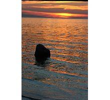 Lake Michigan Pastels Photographic Print