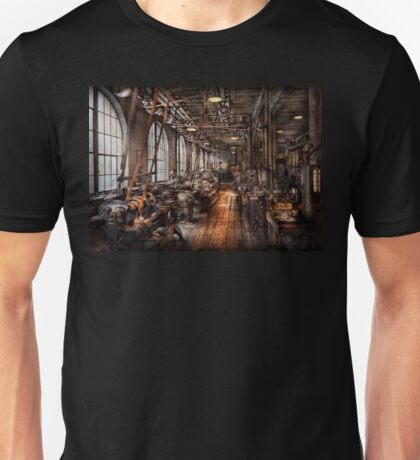 Machinist - A fully functioning machine shop  Unisex T-Shirt