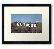 GOTWOOD Framed Print
