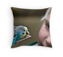 Ah-Hah!!  Another One Under My Spell Throw Pillow