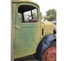 The Old Truck once Worked Photographic Print