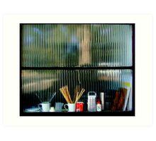 Window of preparedness Art Print