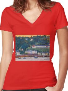 Glenbrook, Cork Women's Fitted V-Neck T-Shirt