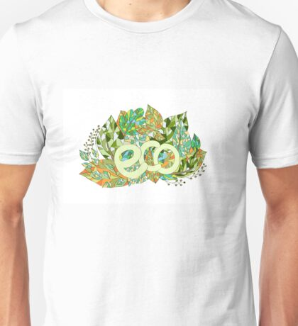 Eco concept label Unisex T-Shirt