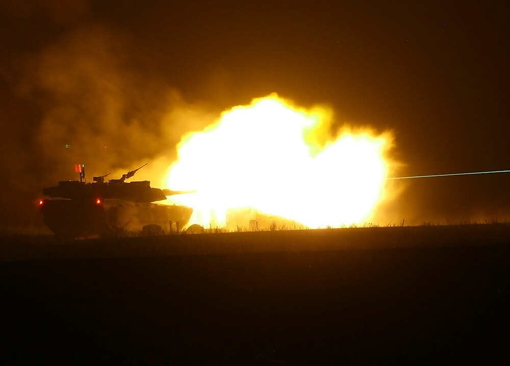 Tank Shoot: Gunnery 2010 by Kyle Jerichow