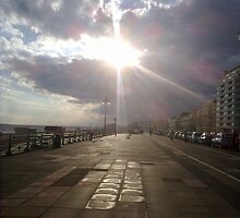 Hove Seafront After Rain by mattupchuck