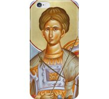 St Dimitrios the Myrrhstreamer iPhone Case/Skin