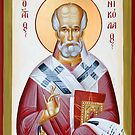 St Nicholas of Myra III by ikonographics