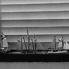 Venetian Boats! by Cathy  Walker