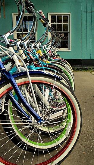 Beach Bikes  by Intheraine