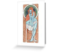The Seven Deadly Sins - LUST Greeting Card
