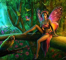 Exotic Butterfly by Tanya Varga (formerly Tanya Wheeler)