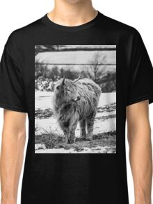 Highland Cow In The Snow 2 Classic T-Shirt