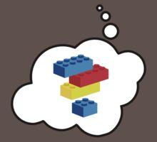 Bricks by Bubble-Tees.com Kids Clothes