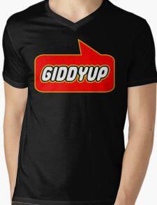 Giddyup, Bubble-Tees.com Mens V-Neck T-Shirt
