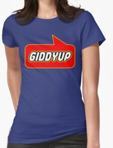 Giddyup, Bubble-Tees.com Womens Fitted T-Shirt