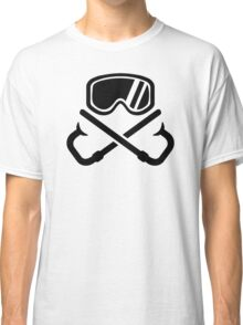 Crossed snorkles goggles Classic T-Shirt