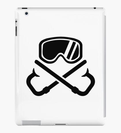 Crossed snorkles goggles iPad Case/Skin