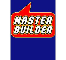 Master Builder, Bubble-Tees.com Photographic Print