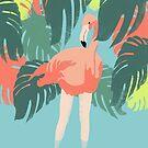 Flamingo by Egle Plytnikaite