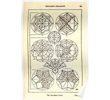 A Handbook Of Ornament With Three Hundred Plates Franz Sales Meyer 1896 0271 Enclosed Ornament Star Shape Panel Poster