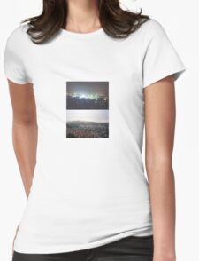 China Balance Diptych Womens Fitted T-Shirt
