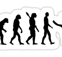 Evolution snorkeling Sticker